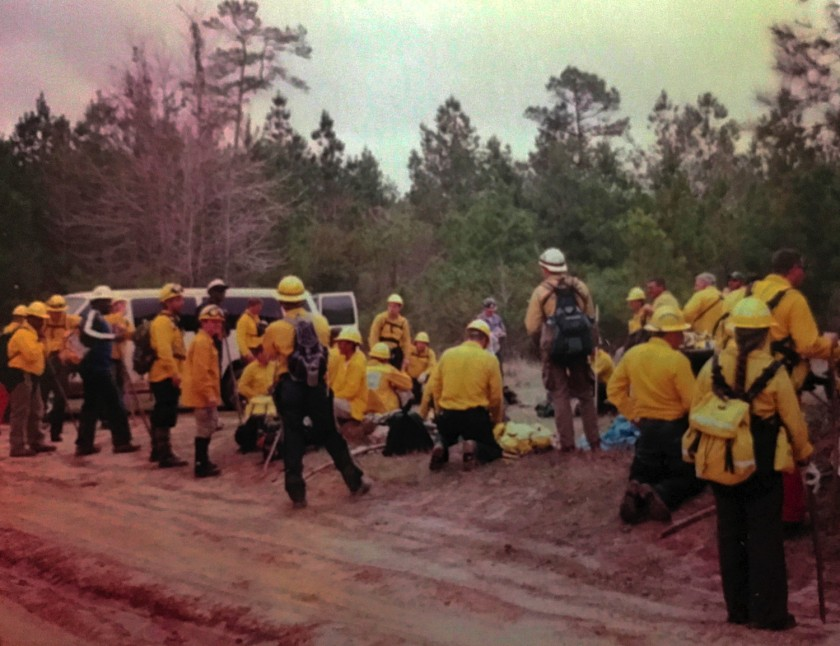 Florida search crews on March 19 2003