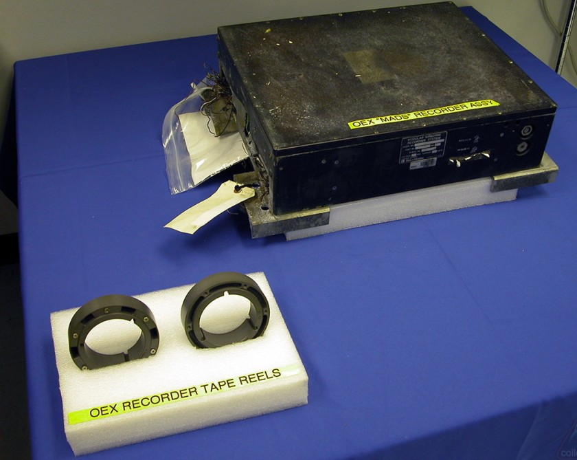 OEX recorder and tape reels
