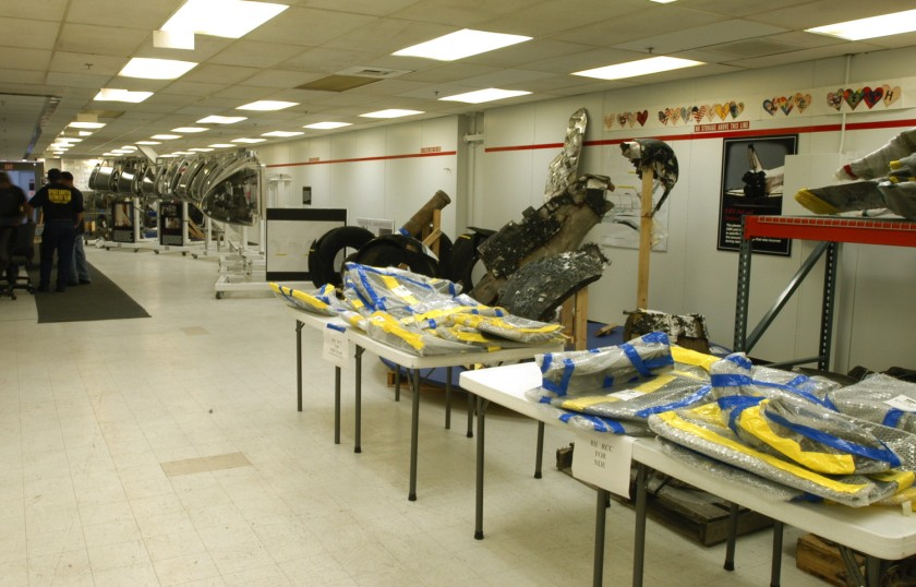 Tables with debris for loan to JSC 3