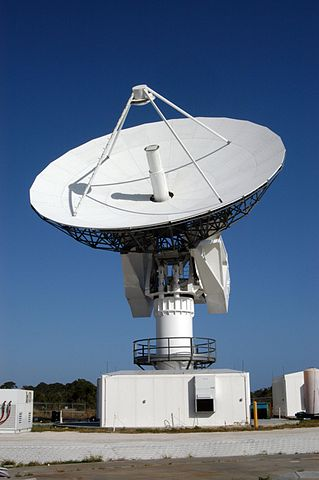C-band radar dish